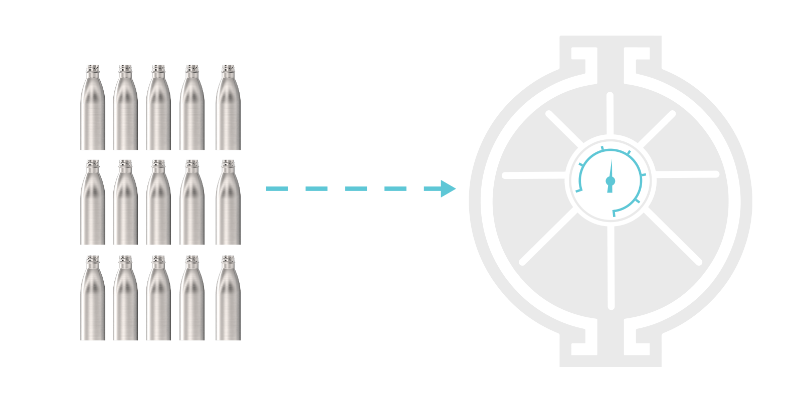 How we make our Metal Water Bottles - Step5